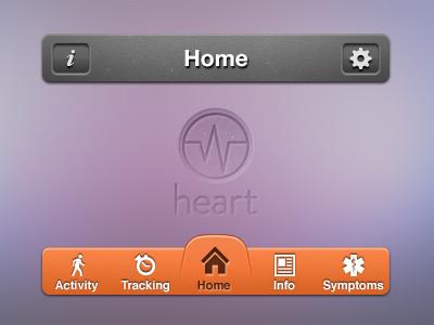 Elements design interface toolbar ios navigation iphone