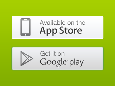 Download Button ui app app store google play badge button download web