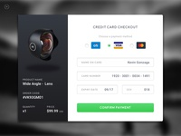 Moment Lens Checkout Page