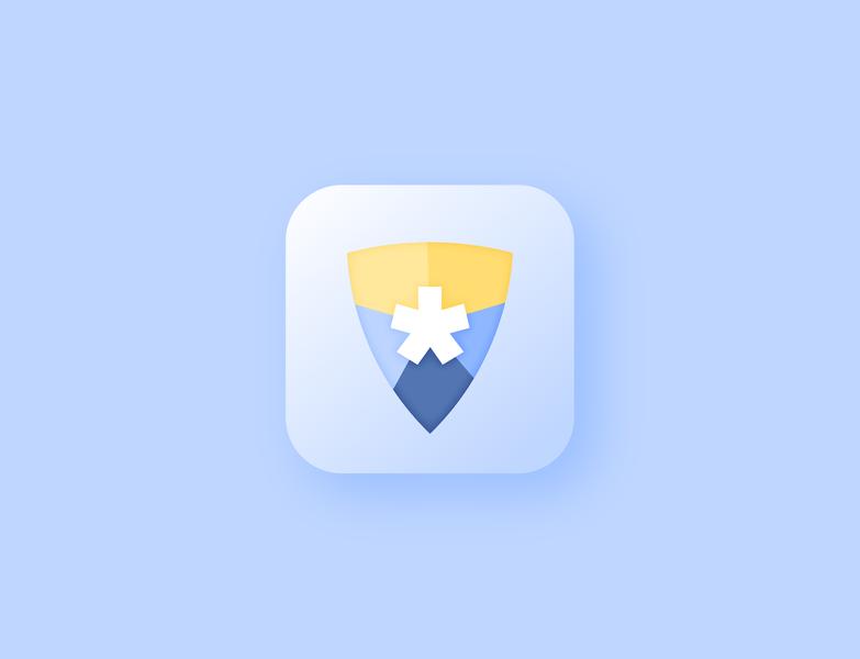 Password Keeper App clean dailyui simple illustrator icon app icon flat