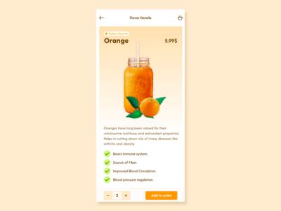 Orange Juice Details