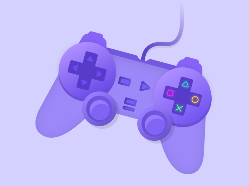Gamepad gamepad games sketch paint branding game illustration design photoshop