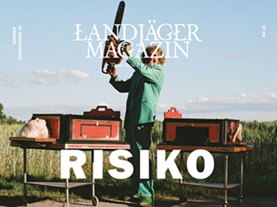 Landjaeger 15 editorial design online magazine