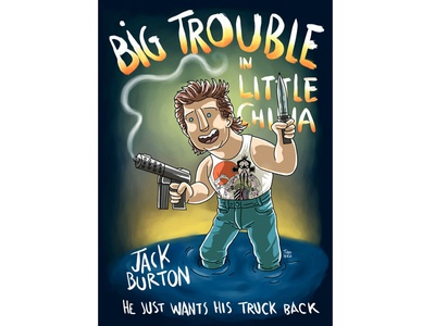 Big Trouble In Little Chine cartoon comic illustration