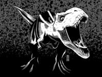 T-Rex   Inktober Day 16