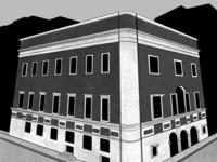 Masonic Temple   Inktober Day 17