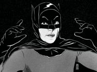 Batman | Inktober Day 23