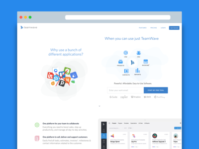 TeamWave Website