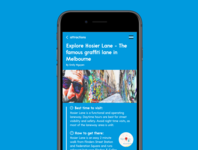 Article Screen - The Line App