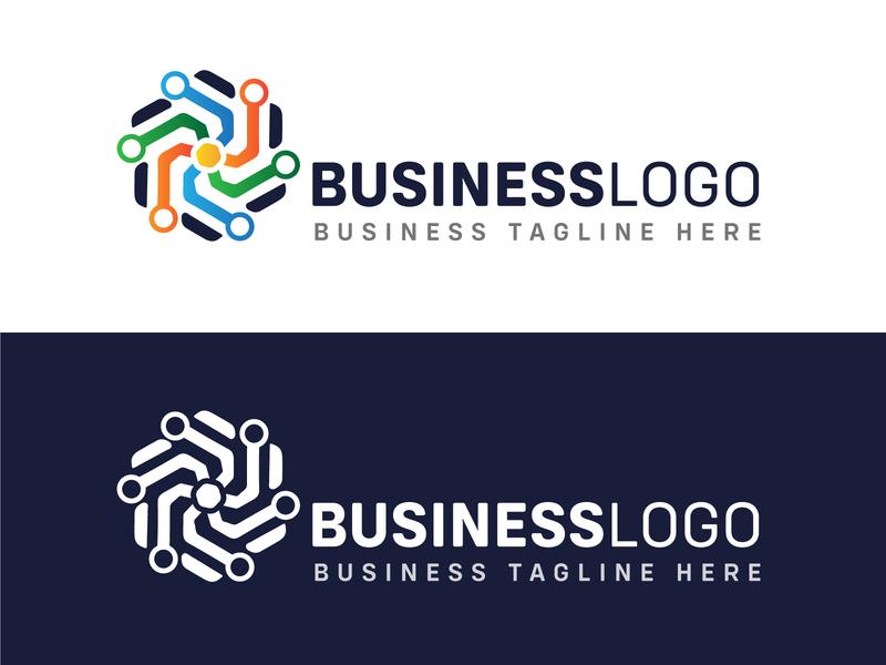Business Logo Sample logo design branding ux ui vector art design art work illustration designing design
