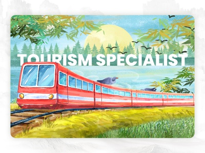 Tourism Specialist Train train clip clipart tour travel world tour worldwide world discover specialist special tourist ocean train travel train tourisminindia tourism vector design art work illustration art design