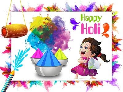 Happy Holi vector art work designing design vector art illuatration holi happy