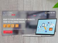 Telecoms Content Hub Mockup