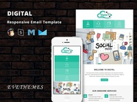 Digital - Responsive Email Template