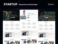 Startup - Multipurpose Responsive HTML Landing Page