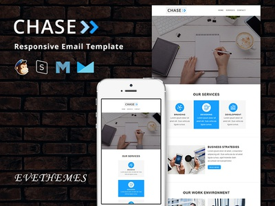 Chase - Responsive Email Template freelance lead digital business marketing seo mailchimp campaign responsive newsletter email template