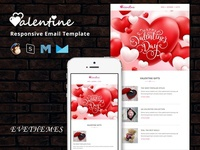 VALENTINE – Responsive Email Template