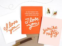 Detroit Card Co. Valentines