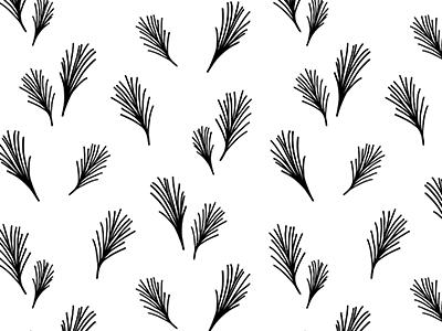 Wispy pine dribbble