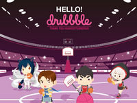 Hello dribbble _ First shots