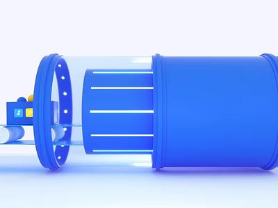 Maze - 3D Animated Teaser Trailer 🍿 lab conveyor belt testing video motion c4d design cinema4d animation 3d