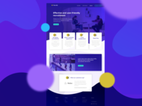 Recruit landing page