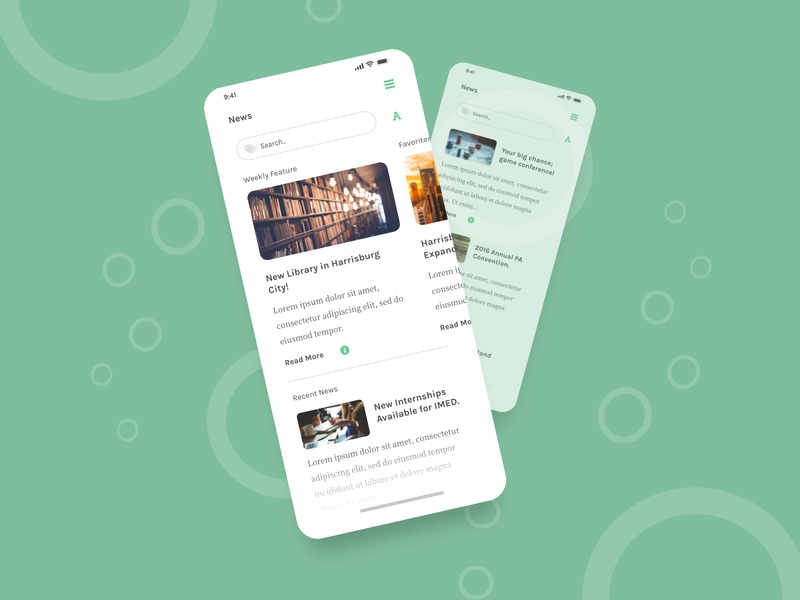 Student News minimalist clean harrisburg university news earch graphic search image search search sliders affinitydesigner featured news feature slider newsfeed minimal news student