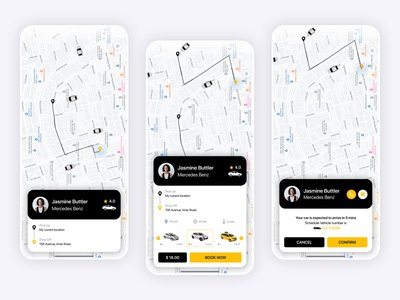 Taxi Booking App mobile design mobile ui mobile app development mobile application android ios mobile app design mobile app mobile app booking cab taxi