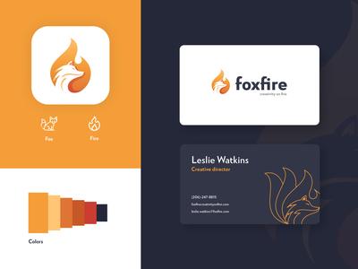 FoxFire - Logo Concept ui logo company logo design uiux logo collection logo designer logo designs logo concepts logo company designer logo concept logos logodesign logotype logo design logo
