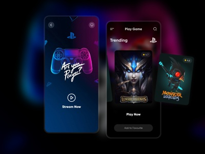 Play Game - Mobile App app development ui ios android mobile app development company mobile apps mobile application mobile applications mobile app design game app game game design mobile app play game game play