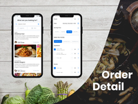 Order Detail - App Development