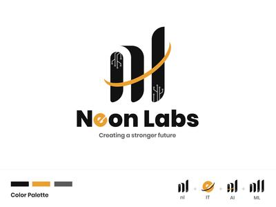 Neon Labs - Logo Design Concept
