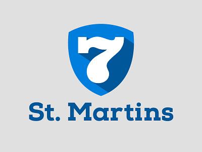 7 St. Martins logo design seven 7 st. martins