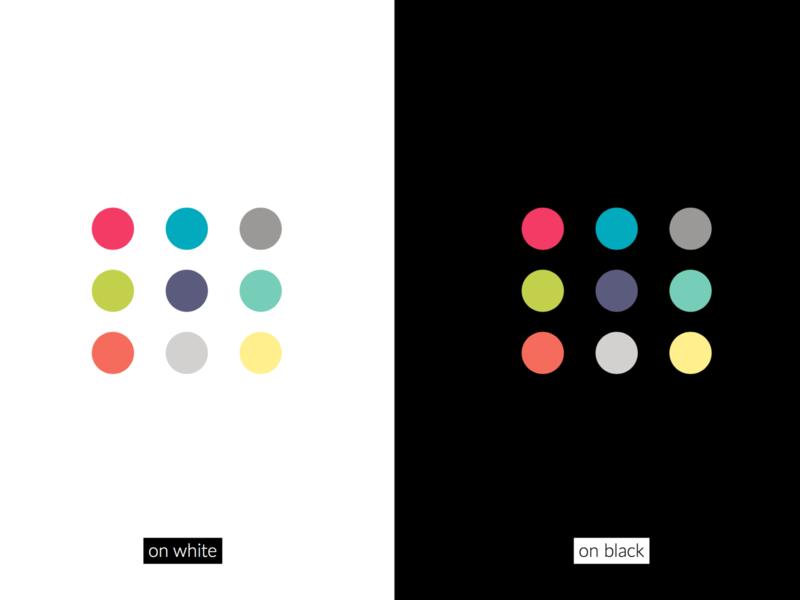 Colour palette for Branding branding design logo restuarant negative space colour palette branding design