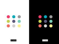 Colour palette for Branding