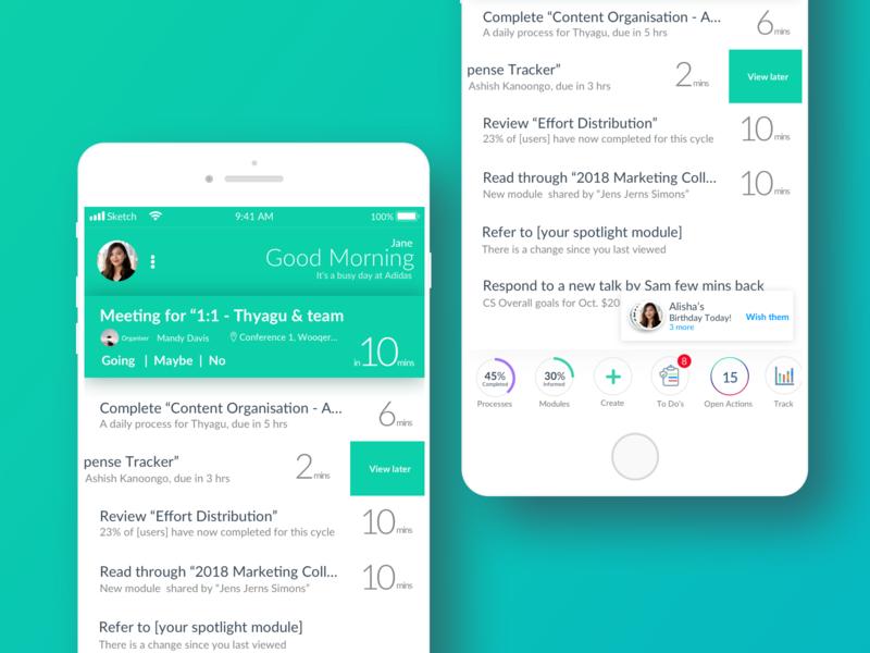 Mobile Visual Design app product design flat ui typography design