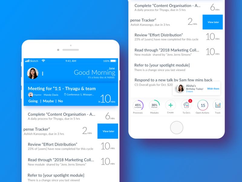 Mobile Visual Design 2 app illustration product design typography ui design