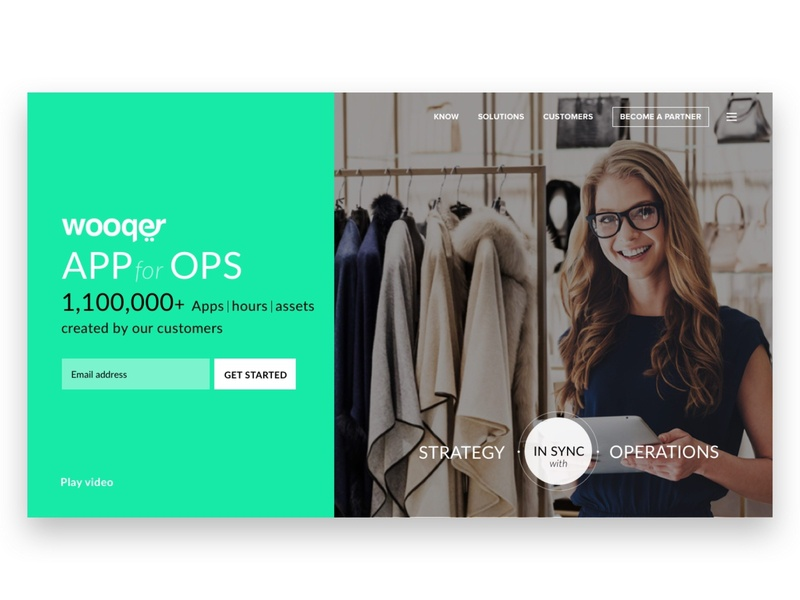 Website Design (Landing Page) home landingpage website design websites branding typography ui design