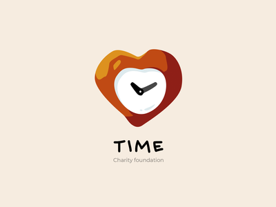 Logo heart time