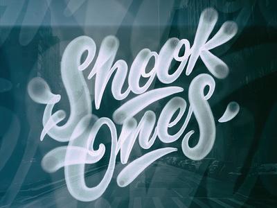 Shook Ones mural vector carhartt letters branding graffiti illustration type lettering typography logo handwriting design calligraphy
