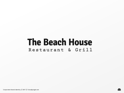 The Beach House // Corporate Brand Identity