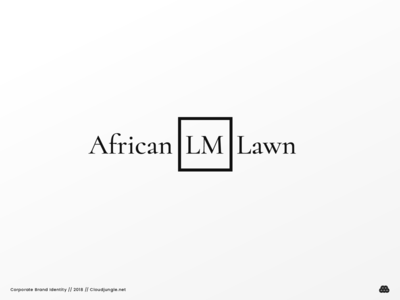 African LM Lawn // Corporate Brand Identity