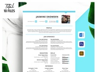 Minimalist Resume + Cover Letter Template