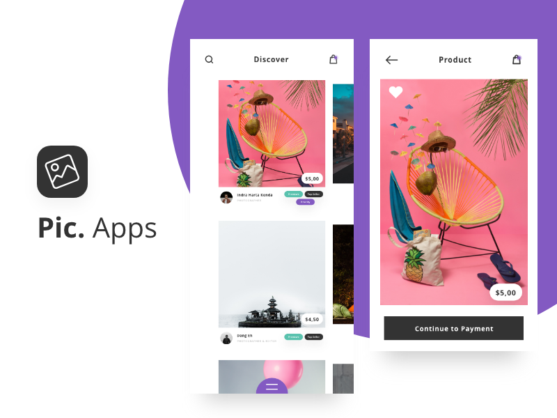 Exploration Pic  Apps IOS by Indra harta kenda for Syntac on Dribbble