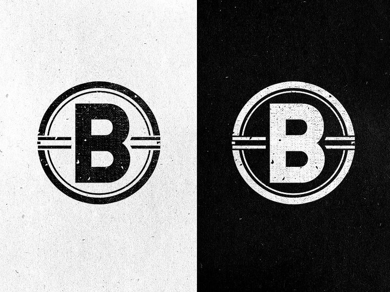 broadside icon branding type logo icon