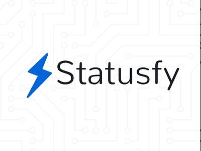Statusfy Logo illustration marquez statusfy branding logo