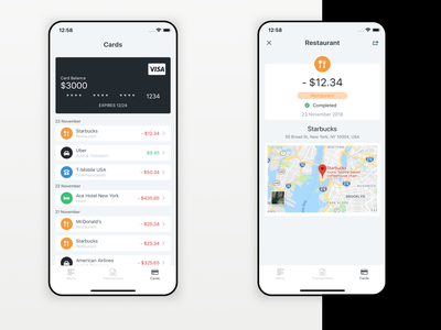 Personal Finance Application | NativeScript & Angular angular nativescript finance mobile app marquez