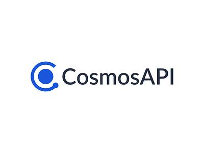 Cosmos API Logotype marquez design branding logo