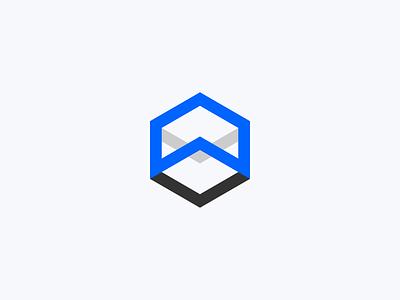 WRLD - VR Logo web app vector ui icon typography branding logo design minimal