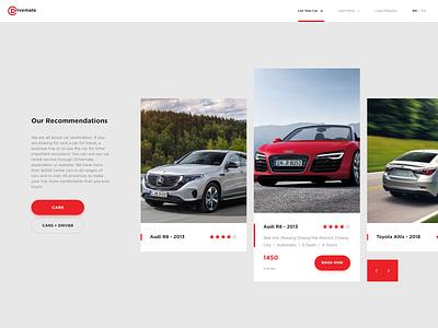 Drivemate branding typography minimal design ux ui web design